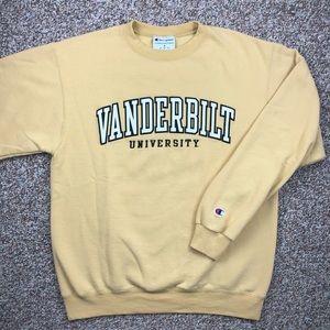 Champion Vanderbilt crewneck sweatshirt M Vandy